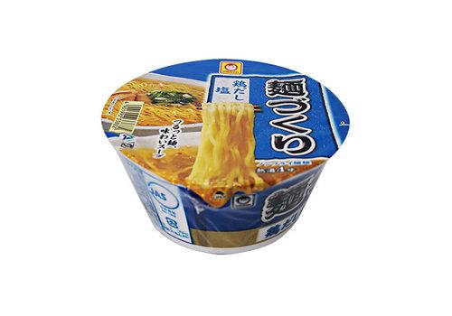 MARUCHAN MENZUKURI TORIDASHI SHIO CUP - Instant cup noedels met kipbouillon en zoutsmaak