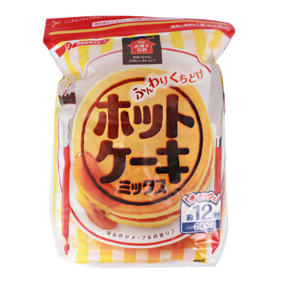 FUNWARI KUCHIDOKE HOT CAKE MIX 600G-1
