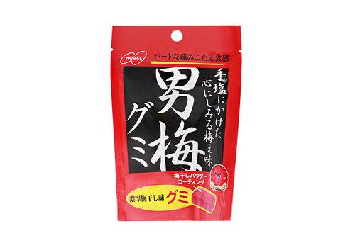 OTOKO UME GUMMY - Gummie snoepjes met ingelegde pruimsmaak 38 gr