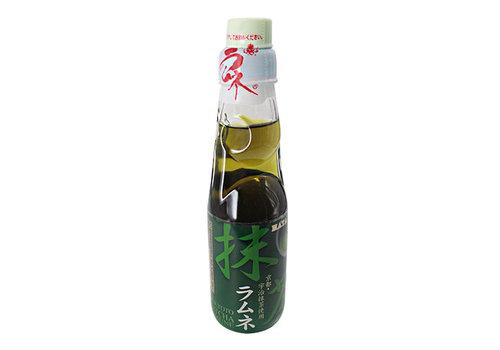 RAMUNE MATCHA - Japanse frisdrank groene thee matcha smaak 200 ml