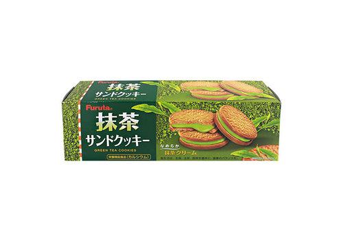 MATCHA SANDWICH COOKIES - Koekjes met matcha groene thee vulling