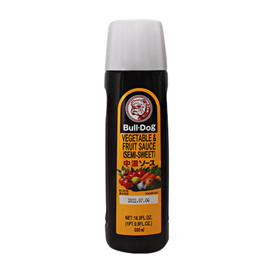 CHUNO SAUCE - Groente en fruitsaus (half zoet) 500 ml-1