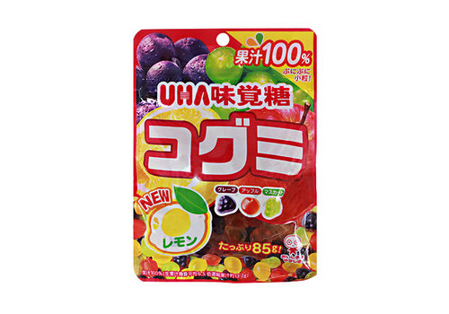 KOGUMI 85 G - Gummie snoepjes met fruitsmaak