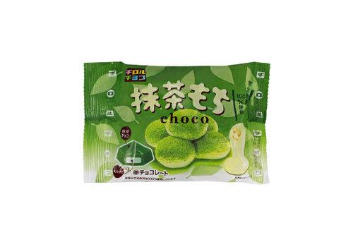 TIROL MATCHA MOCHI CHOCO 7P - Groene thee en chocolade mochi snoep 52 gr