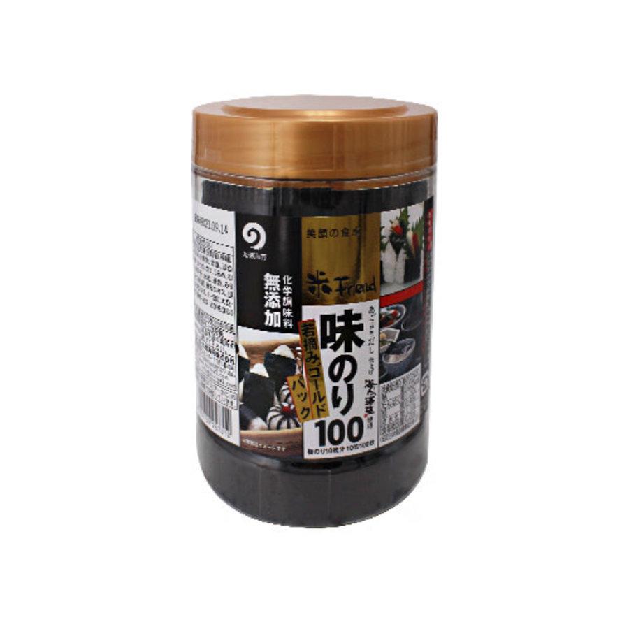 AJINORI VP GOLD 100 - Dunne nori zeewier strips met toegevoegde smaak-1