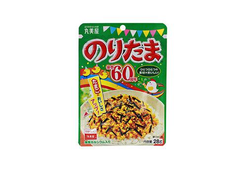 NORITAMA - Furikake rijst strooikruiden met nori zeewier en ei 28 gr