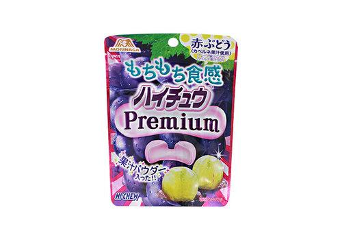 HI-CHEW PREMIUM RED GRAPE - Japanse kauwsnoepjes met druivensmaak 35 gr