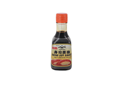 SUSHI SOY SAUCE GLASS BOTTLE 200ML