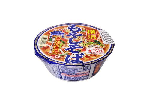 NEW TOUCH YOKOHAMA MOYASHI SOBA - Instant cup noedels met sojascheuten en sojasaus smaak