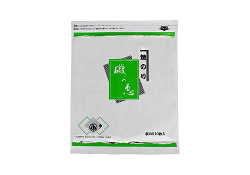 (MADE IN SAGA) YAKINORI ISO NO MEGUMI - Geroosterd nori zeewier - 10 vel