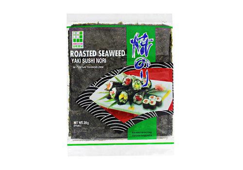 Roasted Seaweed Sushi Green 28 Gr.    JHFOODS