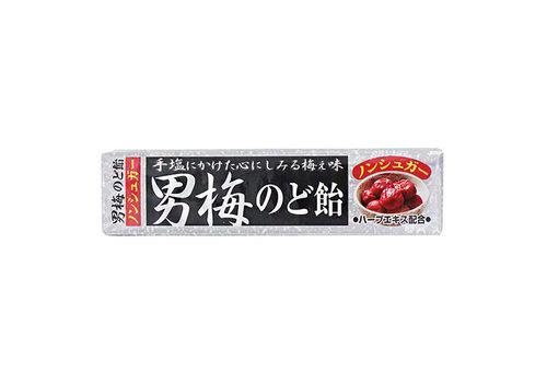 OTOKO UME NODOAME STICK 10P - Keelsnoepjes met Japanse ingelegde pruimensmaak