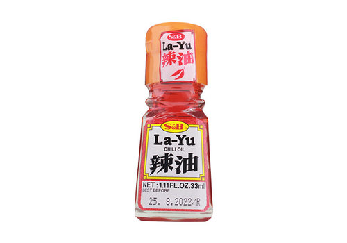 RA-YU - Chili olie 33 ml