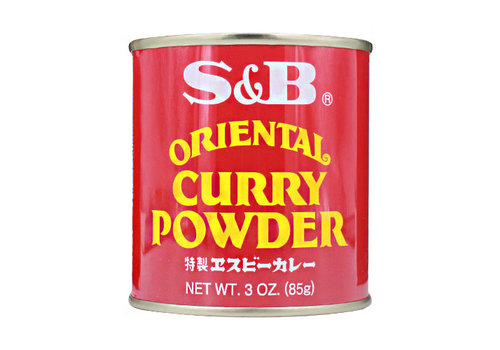 S&B Oriental curry poeder 85 gr