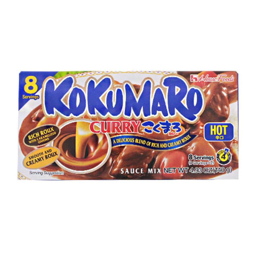 KOKUMARO CURRY KARAKUCHI - Basis voor Japanse curry - heet-1