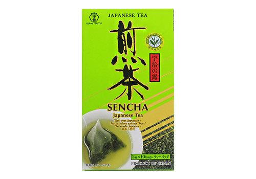 UJI NO TSUYU SENCHA Japanse groene thee 10 zakjes