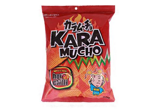 KOIKEYA KARAMUCHO RIDGE - Hete chili ribbelchips