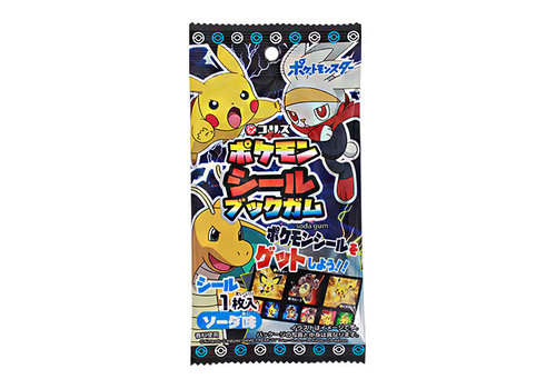 POKEMON SEAL BOOK GUM - Kauwgom met stickervel