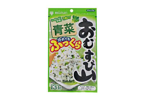 OMUSUBIYAMA AONA - Furikake rijst strooikruiden groente 31 gr