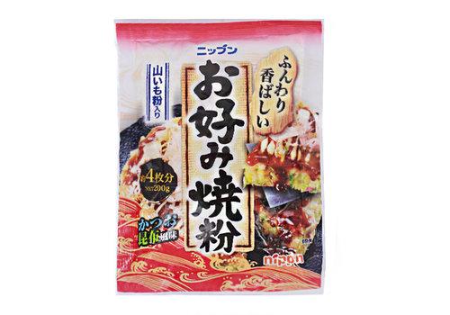 NIPPN OKONOMIYAKI KO - Beslag voor Japanse hartige pannekoek 200 gr