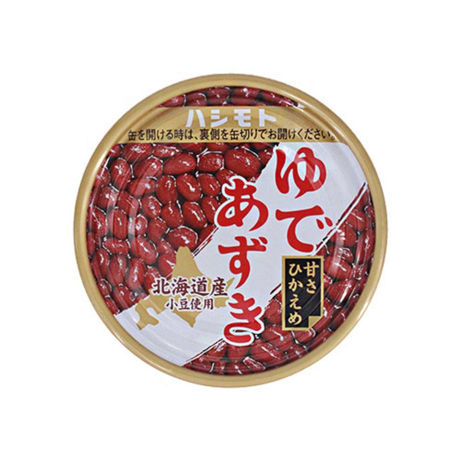 HOKKAIDO YUDE AZUKI - Gekookte rode azuki bonen in blik 190 gr-1