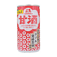 AMAZAKE - Blikje met zoete drank van gefermenteerde rijst met laag alcoholpercentage 190 ml