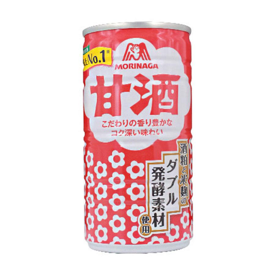 AMAZAKE - Blikje met zoete drank van gefermenteerde rijst met laag alcoholpercentage 190 ml-1