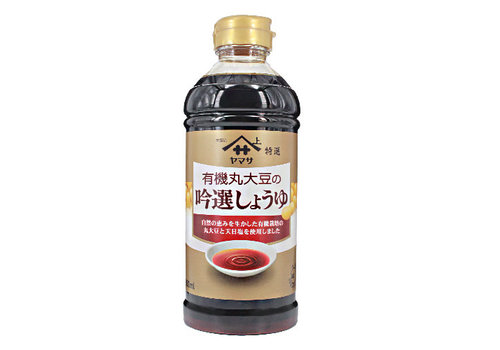 YAMASA YUKI MARUDAIZU GINSEN - Biologische sojasaus 500 ml