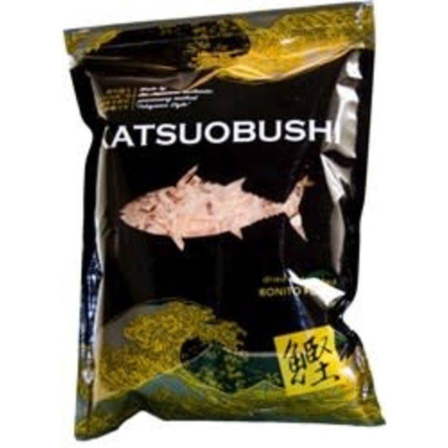 KATSUOBUSHI - Gedroogde en gerookte bonito vlokken-2