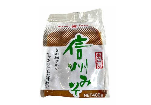 WHITE MISO SHINSHU - Witte miso pasta 400 gr