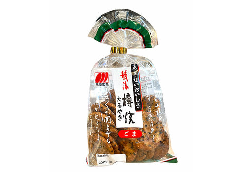 ECHIGO TARUYAKI GOMA - Rijstcrackers met sojasaus en sesam