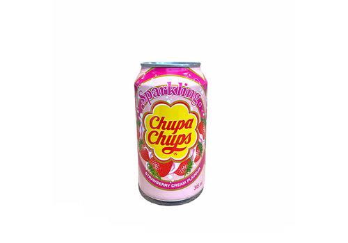 Chupa Chups Strawberry & Cream 345 Ml.   CHUPA CHUPS
