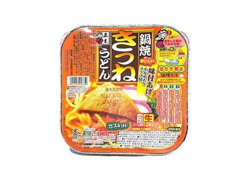 NABEYAKI KITSUNE UDON - Udon noedels met gefrituurde tofu