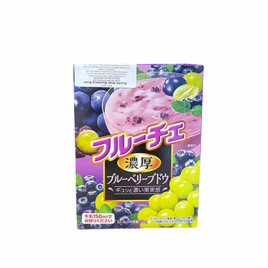 Fruche Noko Blueberry Budo (Seasoning for Fromage Blanc with Blueberry & Grape)-1