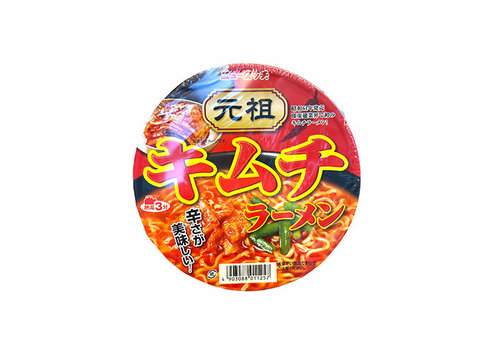 NEW TOUCH GANSO KIMCHI RAMEN - Instant Kimchi cup noedels