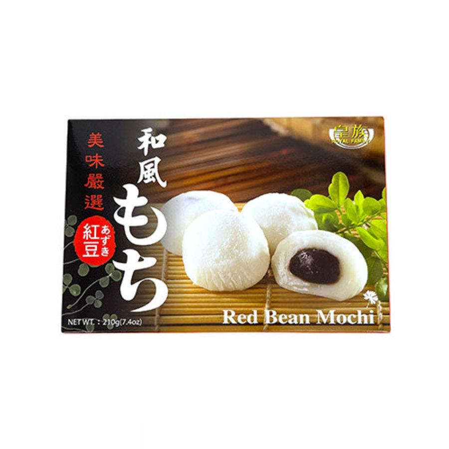 ROYAL FAMILY RED BEAN MOCHI - Zachte Japanse kleefrijst snack met rode bonenpasta-1