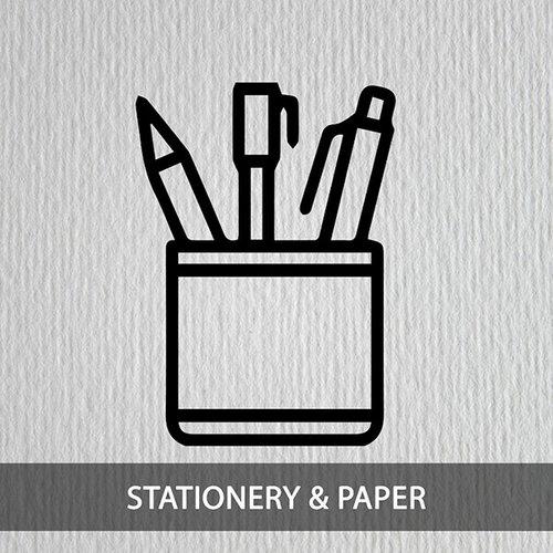Schrijfwaren en papier