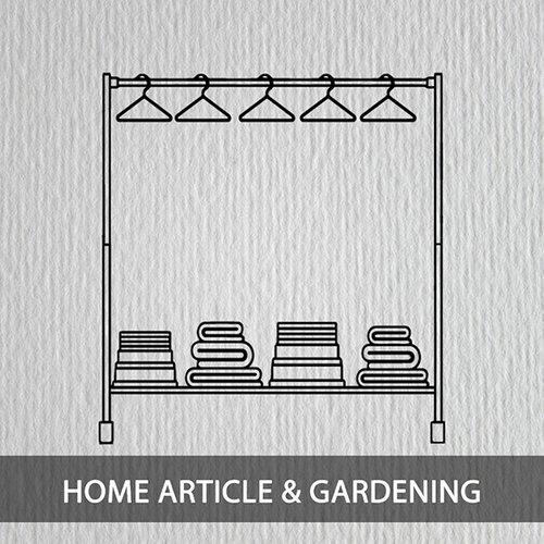 Huishouden en tuin
