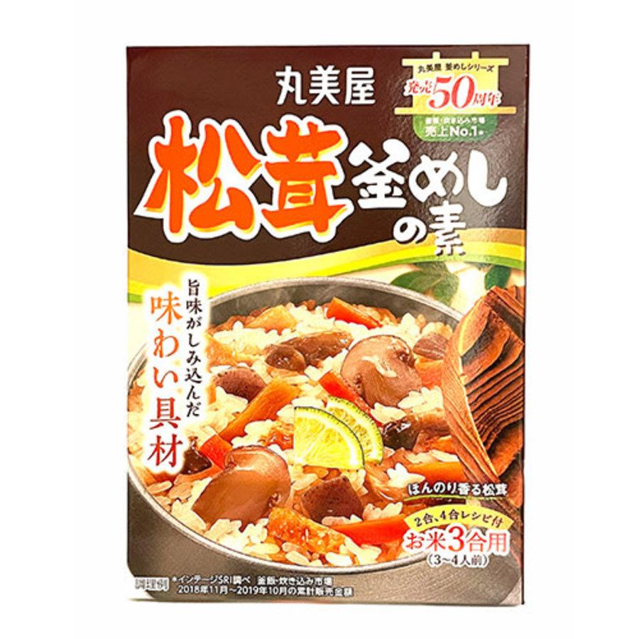 Matsutake Kamameshi No Moto (Rice Dish Seasoning with Matsutake Mushroom)-1