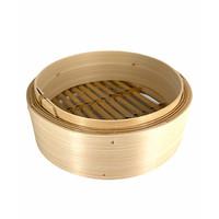 Bamboe Stoommandje 8 Inch