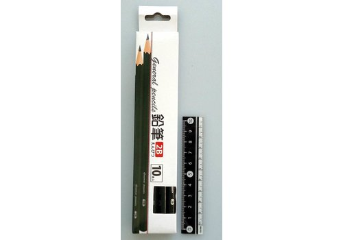Pencil 2B 10p
