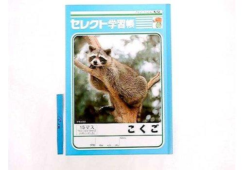 B5 Japanese 15cells notebook