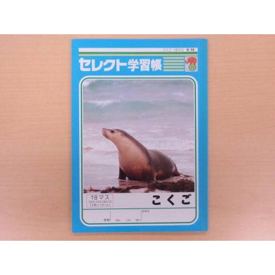 B5 Japanese 18cells notebook-1