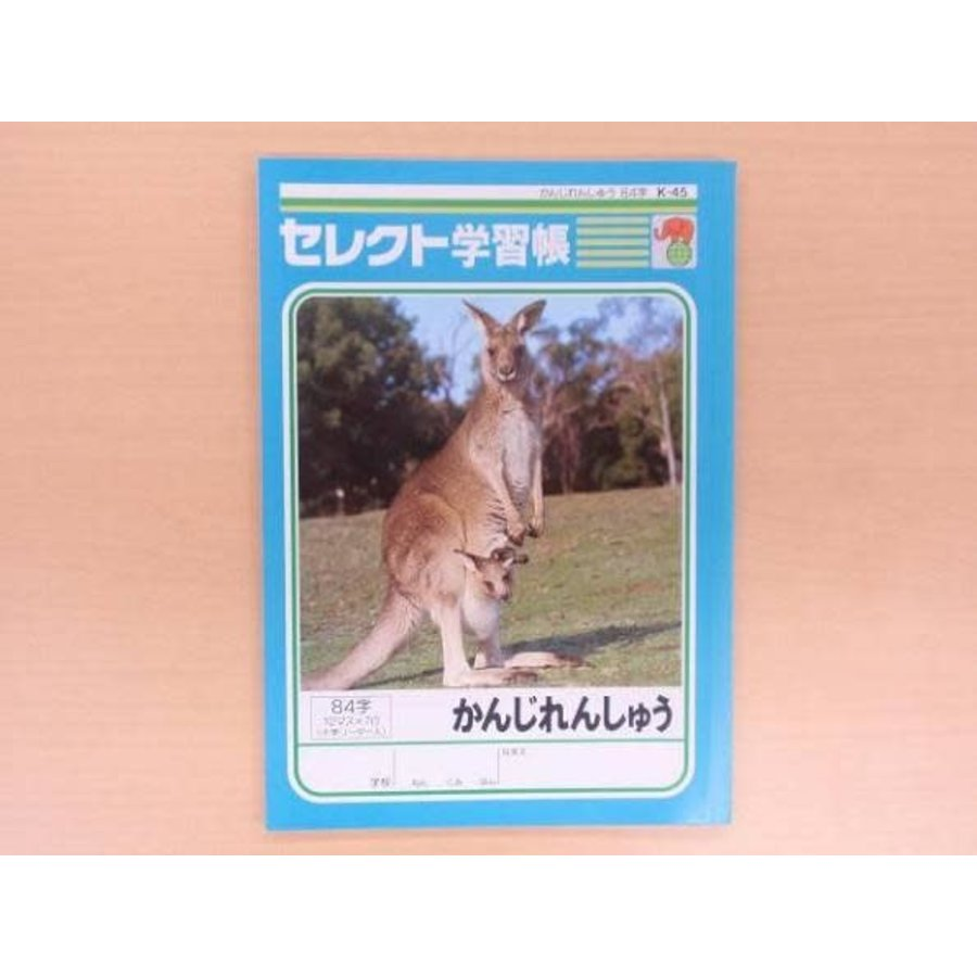 B5 size Japanese notebook 84words-1