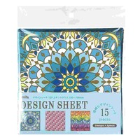 Design sheet 15P stained glass