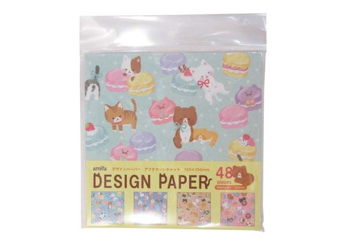 Design paper 48 afternoon cat