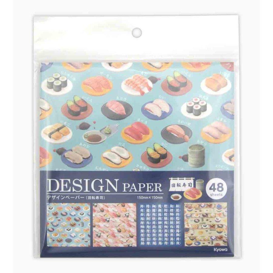 Design paper conveyor belt sushi 48S-1