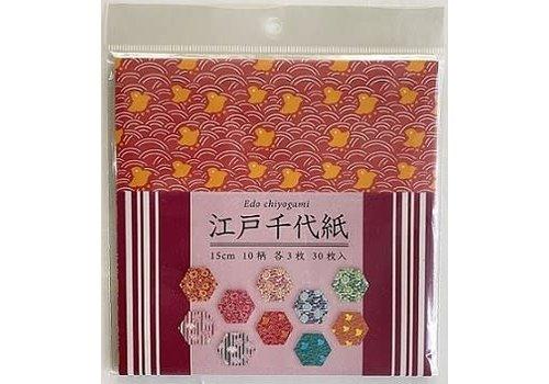Origami Japanese chiyo 15cm 30sheets