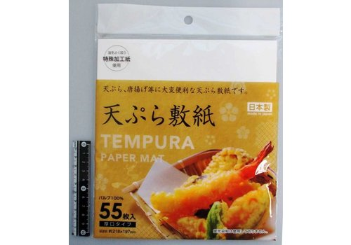 Tempura paper (cooking oil absobver), 55sheets
