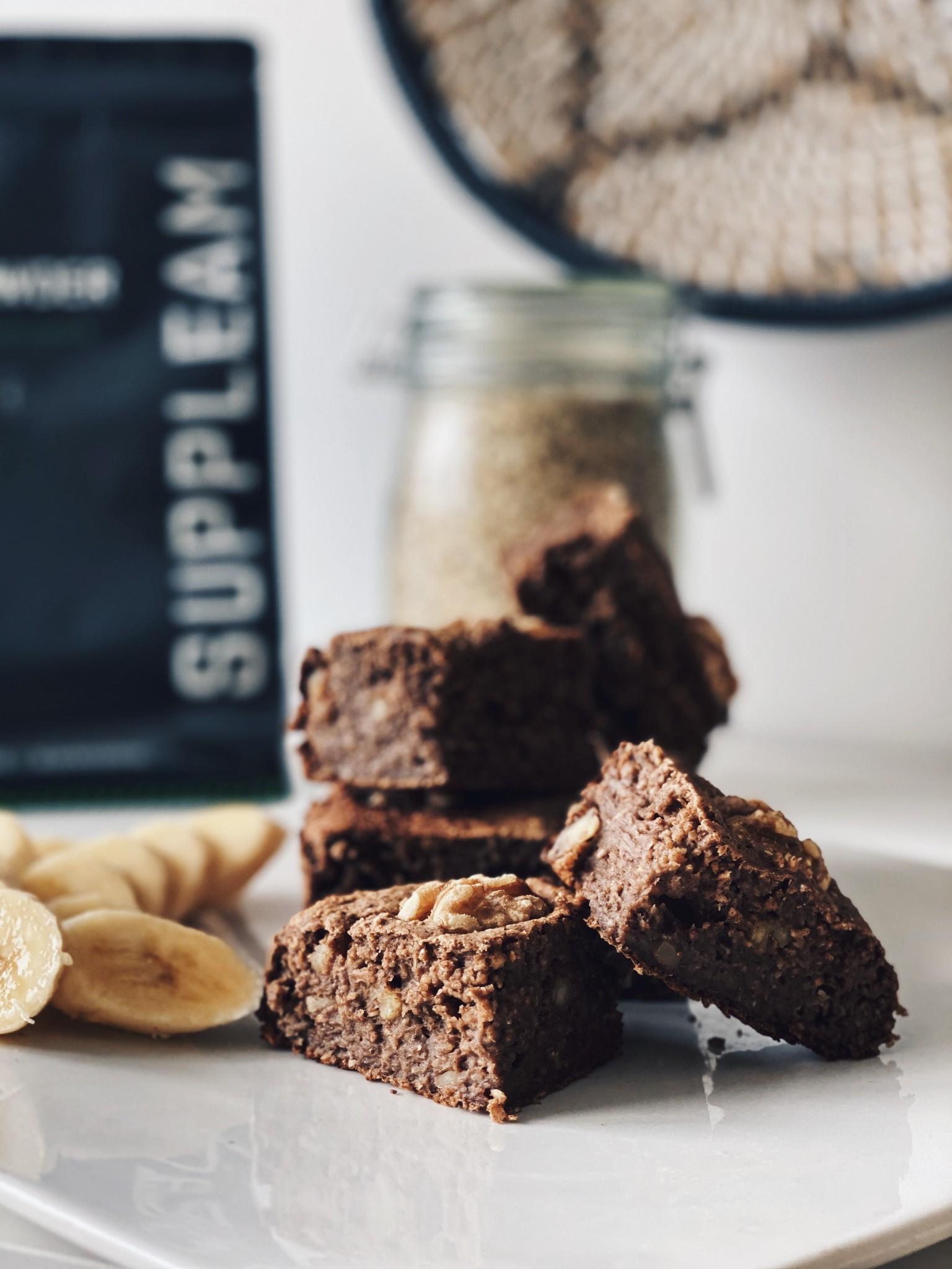 Blog Healthy Vegan Protein Banana Bread Suppleam Com